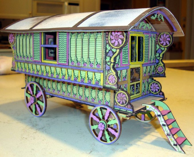 Kelayres Gypsy Wagon One Inch Scale [Kelayres Gypsy Wagon 1