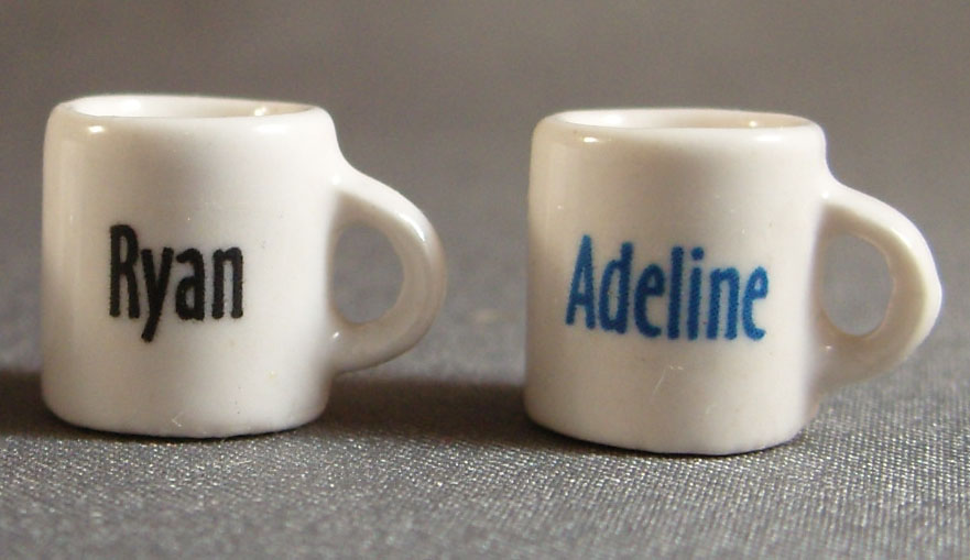 Mini Mug with Name only - Click Image to Close